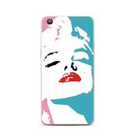 创意玛丽莲梦露oppor15手机壳r11s全包软壳r9splus保护套个性女款