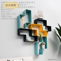 创意墙上装饰品摆设简约现代家居室内客厅电视墙奶茶店置物架挂件SN2319