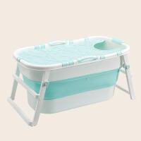婴儿洗澡盆新生儿童用品洗澡桶折叠游泳桶宝宝浴桶可坐躺加大浴盆