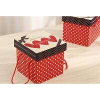 糖果零食休闲食品礼物包装盒方形礼品盒精美卡通礼盒手提收纳1
