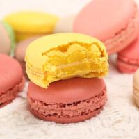 【包邮】马卡龙甜点12枚 网红零食甜品蛋糕法式手工小面包礼盒送女友