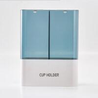 一次性杯子架自动取杯器家用收纳盒饮水机放水杯的杯架纸杯置物架