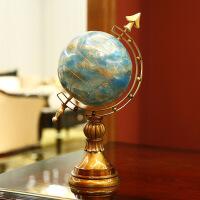家居地球仪摆设客厅酒柜装饰品摆件书房 图片色