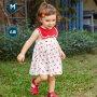 【129元任选3件】迷你巴拉巴拉婴儿连衣裙2020夏季全棉柔软连衣裙甜美时尚公主裙