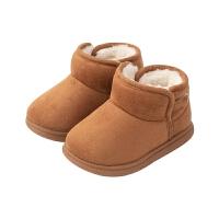 儿童棉鞋1-3岁软底冬鞋加厚保暖女童鞋加绒男二棉鞋子毛毛鞋新款