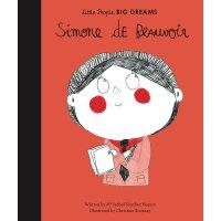 小女孩,大梦想:波伏娃 Simone de Beauvoir 英文原版 精装绘本 名人传记 Little People,