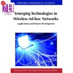【中商海外直订】Emerging Technologies in Wireless Ad-Hoc Networks: