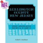 【中商海外直订】Burlington County, New Jersey, Deed Abstracts: Book