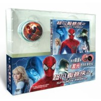 电影 超凡蜘蛛侠2 限量礼品版 DVD9 赠发光悠悠球 限量