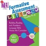 【中商海外直订】Formative Assessment for Literacy, Grades K-6: Buil