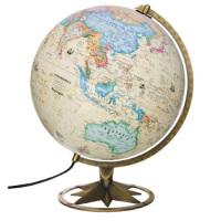 【旧书二手书九成新】《博目地球仪:30cm中英文政区古典立体地球仪(LED灯光型