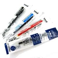 日本进口UNI三菱UMR-5笔芯 三菱UM-100水性笔替芯 0.5MM 红黑蓝色