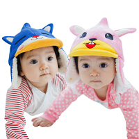 KK树宝宝帽子婴儿男童女童新生儿儿童童帽秋冬款套头帽潮冬天