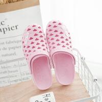 凉鞋女度假夏季橡胶洞洞鞋乳胶鞋旅游沙滩鞋包头后带拖鞋