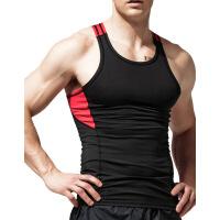 运动背心男跑步健身速干透气弹力紧身修身型无袖跨栏训练健美夏季
