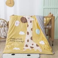 纯棉纱布儿童被套单件1.2m1.5米床婴儿宝宝幼儿园全棉双层纱被罩