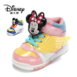 【达芙妮集团】迪士尼 冬季米妮米奇翅膀中性运动鞋