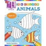 【中商海外直订】Sea Animals (Trace and Colour): Tracing and Colorin