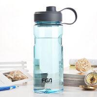 品牌单层玻璃泡茶杯时尚商务水杯创意旅行办公男女便携水杯子