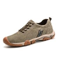 秋季内增高男鞋6cm休闲运动鞋牛筋底防滑耐磨户外鞋男登山鞋