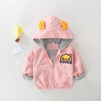 儿童时尚夹克衫宝宝0一1-3岁春秋款洋气外套男女童风衣婴儿衣服潮
