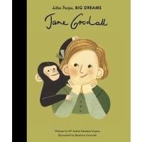 小女孩,大梦想:珍妮・古道尔 Jane Goodall 英文原版 精装绘本 名人传记 Little People, B