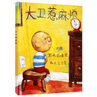 大卫惹麻烦 (美)香农 文图,余治莹 河北教育出版社