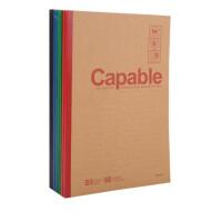 晨光无线装订A5/B5软面抄本 550记事本 笔记本 练习本 颜色随机