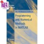 【中商海外直订】An Introduction to Programming and Numerical Method