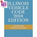 【中商海外直订】Illinois Vehicle Code 2018 Edition