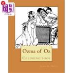 【中商海外直订】Ozma of Oz: Coloring Book