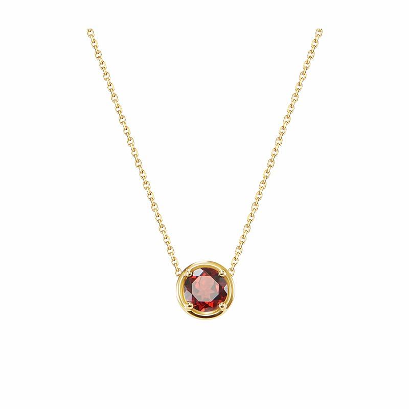 【网易严选超品日返场】生辰石彩色宝石K金吊坠 找到属于你的专属守护石。