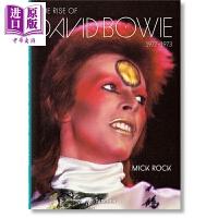 【中商原版】米克洛克 大卫鲍威的崛起 英文原版 The Rise of David Bowie1972-1973