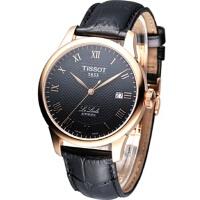 天梭 (TISSOT)手表 力洛克系列机械男表T41.5.423.53
