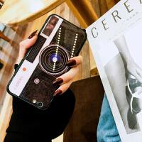 相机手机壳苹果7个性创意女款潮牌iphone8plus/6s/x玻璃镜面后壳防摔社会人抖音同款外壳情 iphone⑥pl