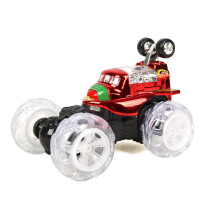 仁达无线遥控特技车翻滚跳舞车可伸缩充电翻斗车儿童玩具0.81 AF25404