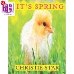 【中商海外直订】It's Spring: An Alphabet Celebrating the Seasons Bo