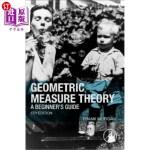 【中商海外直订】Geometric Measure Theory: A Beginner's Guide