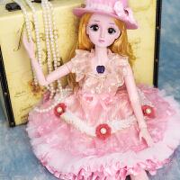 会说话的智能娃娃芭比娃娃梦幻公主 60cm会说话的超大洋娃娃婚纱套装公主女孩玩具女单个装