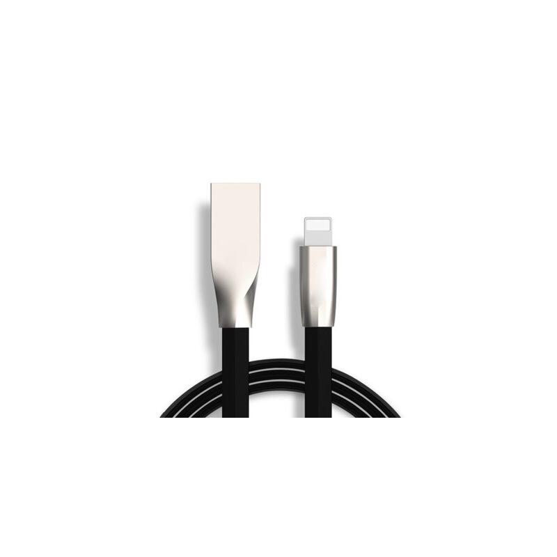 苹果6s数据线iphone7 plus 6s 5s ipad mini6p充电器线 黑色2米 苹果