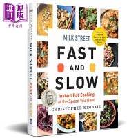 【中商原版】牛奶街食谱:快与慢 英文原版 Milk Street Fast and Slow Christopher K