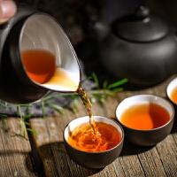 云南普洱茶熟茶黑茶小泡装大叶种普洱熟茶盒装128g