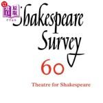 【中商海外直订】Shakespeare Survey: Volume 60, Theatres for Shakesp