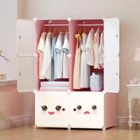 宝宝衣柜儿童收纳柜简约现代实木收纳柜子塑料简易衣橱储物柜小型