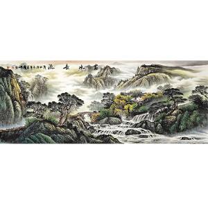 中国美协会员,中国书协会员,龙云书画院院长侯桂峰(富水长流)26