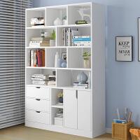 【限时抢购,全店七折】简易书架落地卧室收纳置物架客厅储物柜经济型家用书房大容量书橱