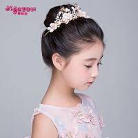儿童头饰公主发饰手工宝宝演出饰品发箍韩式女童发夹花朵女孩头箍