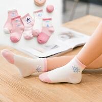 儿童袜子春秋男童女童中筒袜0-1-3-5-7-9-12岁宝宝秋冬棉短袜