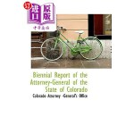 【中商海外直订】Biennial Report of the Attorney-General of the Stat