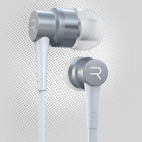 【正品包邮】Remax 手机线控金属质感耳机 入耳式入门级发烧音乐耳机 带麦面条